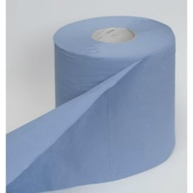 CL950B Clea Hand Towel System Roll 2 ply Blue (pk 6)
