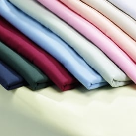Double Fitted Sheets - Polycotton 68 Pick