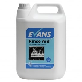 Rinse aid - Promotes Drying & eliminates spotting
