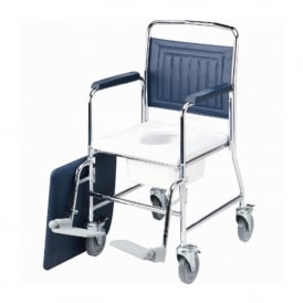 Mobile Commode with detachable arms & back (each)