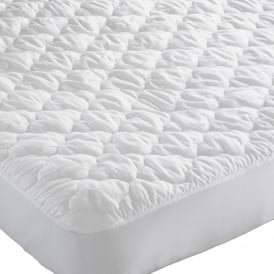 Polycotton Quilted Mattress Cover Single(each)