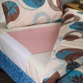Premium bed pad with wings