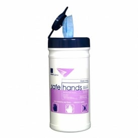 Safehands Hand Sanitizing wet wipes (pk 12x200)