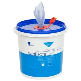 Clen Saniwipe Disinfectant wipes - bucket (pk 1000)