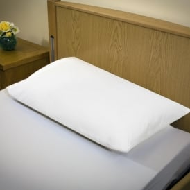 Washable Pillow Protector. MRSA Resistant, Breathable, PU,